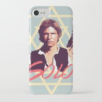 han solo iPhone & iPod Cases featuring Han Solo by Cesar Carlevarino