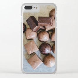 Chocolate 7 Clear iPhone Case