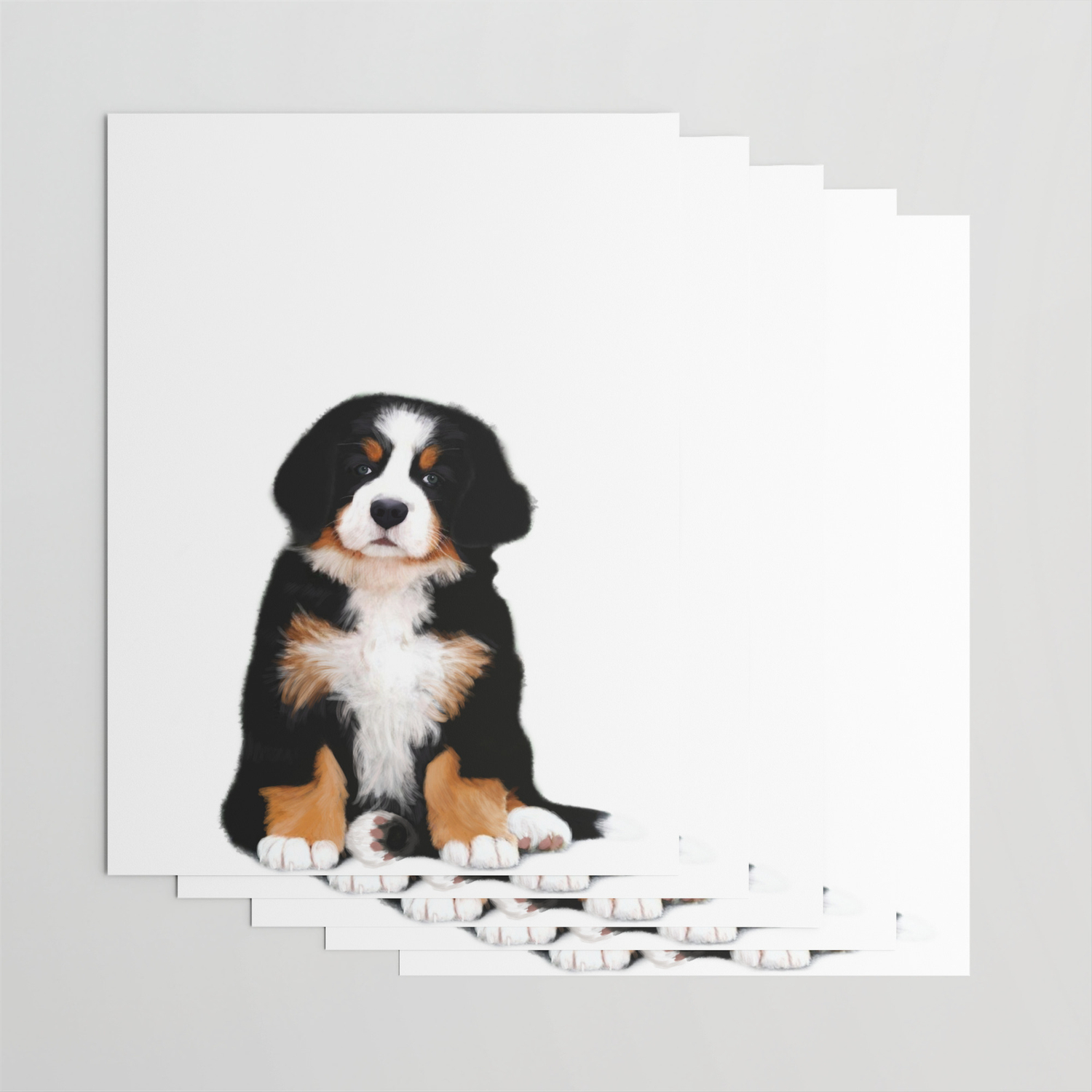 Bernese Mountain Dog Puppy Wrapping Paper By Scubaprincess Society6