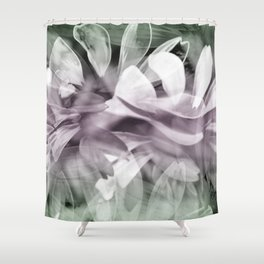 Pink  Exposures Shower Curtain