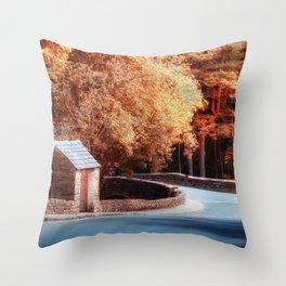 Smithy Bridge Throw Pillow