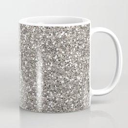 Silver Glitter I Coffee Mug