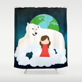 Homesickness Shower Curtain