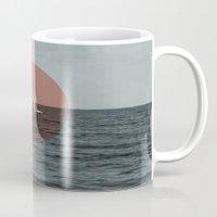 sail Mugs featuring Sail by Carla Talabá