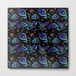 Turkish tulip pattern 9 Metal Print