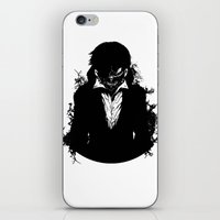 tokyo ghoul iPhone & iPod Skins featuring Kaneki Tokyo Ghoul 3 by Prince Of Darkness