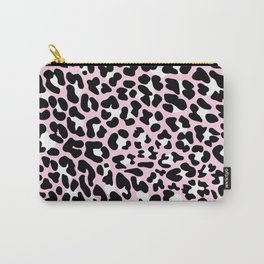 PINK LEOPARD PANTHER ANIMAL SKIN PINK  Carry-All Pouch