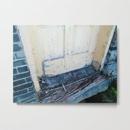 Factory Doorstep Metal Print