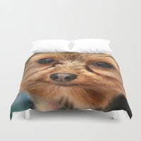 ewok Duvet Covers featuring Ewok? by IowaShots