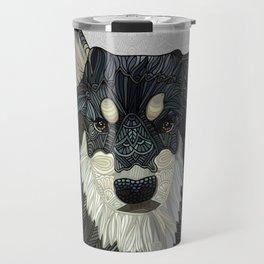 Bjorn - Malamute Samoyed Husky Mix Travel Mug