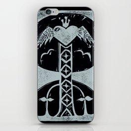 Love (Black) iPhone Skin