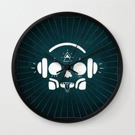 Music Happens Wall Clock
