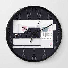 I Love My Sewing Machine Wall Clock