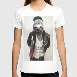 Punk Sloth T-shirt