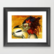 Raptor: Corvus Framed Art Print