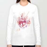 mars Long Sleeve T-shirts featuring Mars by ODA Estudio