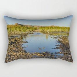 Pentecost River Crossing Rectangular Pillow