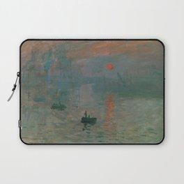 Claude Monet - Impression, Sunrise Laptop Sleeve
