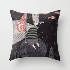 Five Hundred Million Little Bells (3) Throw Pillow