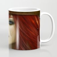 ruby Mugs featuring Ruby by PiccolaRia