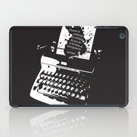 hemingway iPad Cases featuring Ernest Hemingway Quote by People Matter Creative