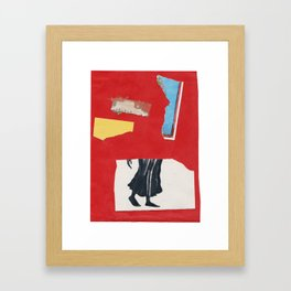 Since I was young, I knew I'd find you Framed Art Print