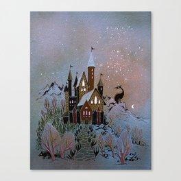 Magic Castle Canvas Print