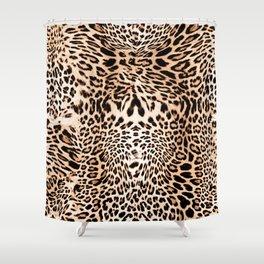 Wild Leopard Shower Curtain