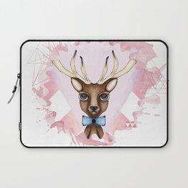 Pink Deer - Ciervo Rosa Laptop Sleeve