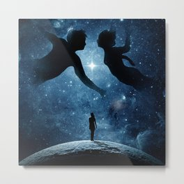 Touching the beauty of memories. Metal Print