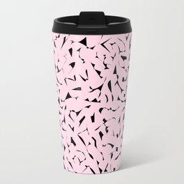 Pink Mezzotint Travel Mug