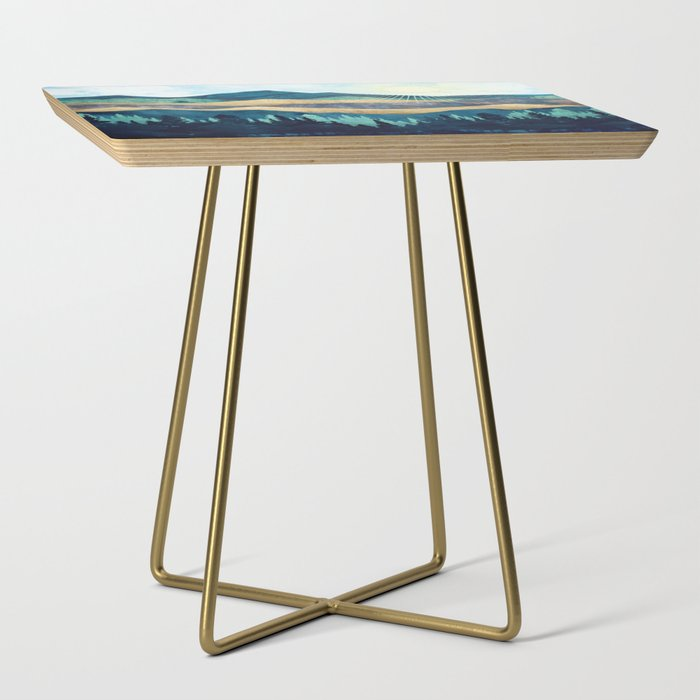 Blue Forest Side Table