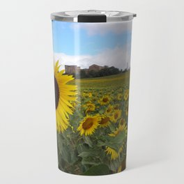 Stand Out Sunflower Travel Mug
