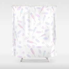 Medical Attention Shower Curtain