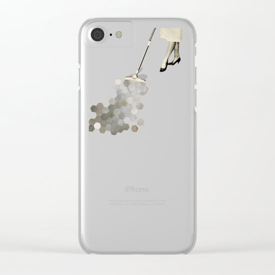 Picking Up the Pieces Clear iPhone Case