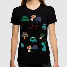 Cute Mushroom Pink T-shirt