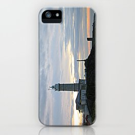 Santander Lighthouse by Shelia Kempf iPhone Case