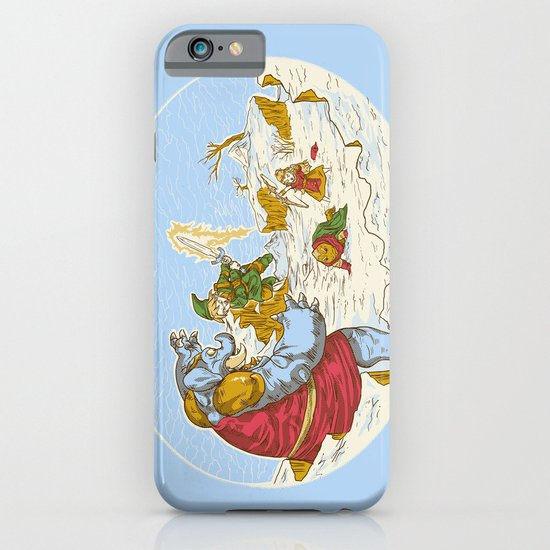 A Chrono to the past iPhone & iPod Case