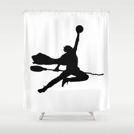 #TheJumpmanSeries, Airy Potter Shower Curtain