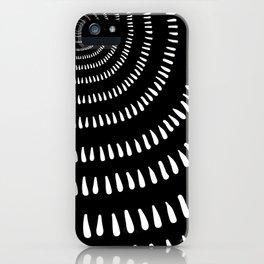 Fjorn black iPhone Case