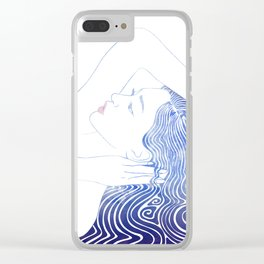 Water Nymph LXXIX Clear iPhone Case