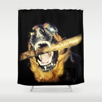 mad max Shower Curtains featuring Mad Max by LiS Fotografie