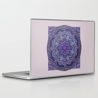 batik Laptop & iPad Skins featuring Batik Meditation  by DebS Digs Photo Art