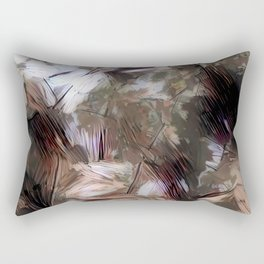 Confused Leaves Rectangular Pillow