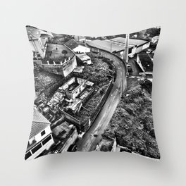 Madeira from Above Throw Pillow