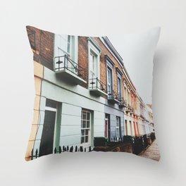 Gloomy Day In Camden Throw Pillow