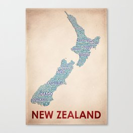 New Zealand Canvas Print