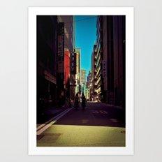 Tokyo Alley II Art Print