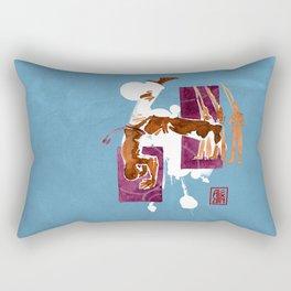 Capoeira 556 Rectangular Pillow