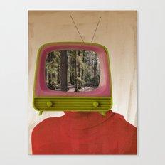 Das kleine Fernsehspiel Canvas Print